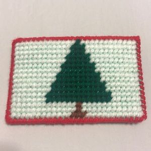 Handmade Christmas Tree Gift card holder wallet